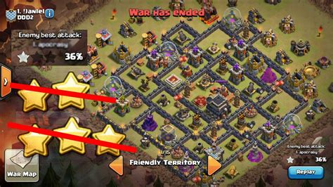 clash of clan th 9 war base say no to 3 star clash of clans th9 war base