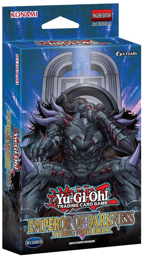 yugioh structure deck emperor of darkness structure deck yugioh card prices