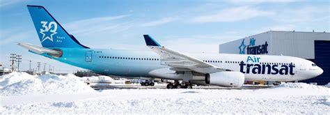 air transat unveils 30th anniversary aircraft gtp headlines