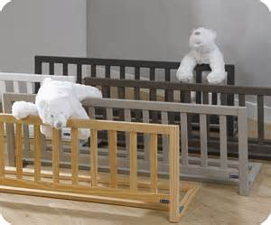 barri 232 re de lit enfant landry 120x40 cm en pin massif