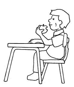 cosa mangiare per andare al bagno disegni da colorare per bambini midisegni it