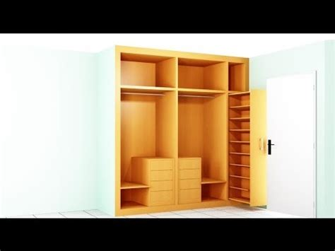 como hacer  armario  la habitacion resumen youtube