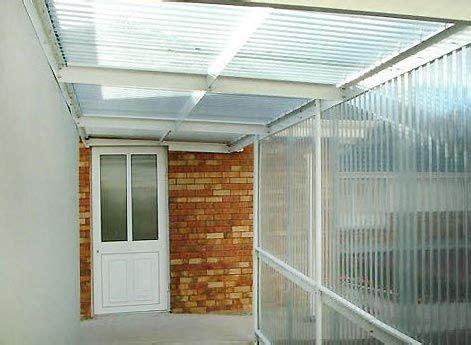 enrejado para techos vs cerramientos de policarbonato patio