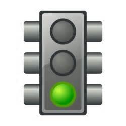 clipart green traffic light