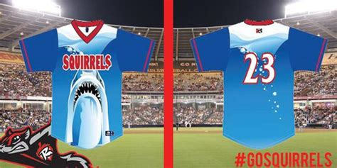 Baseball Themed Giveaways - baseball s first jumanji themed jerseys this week in minor league baseball