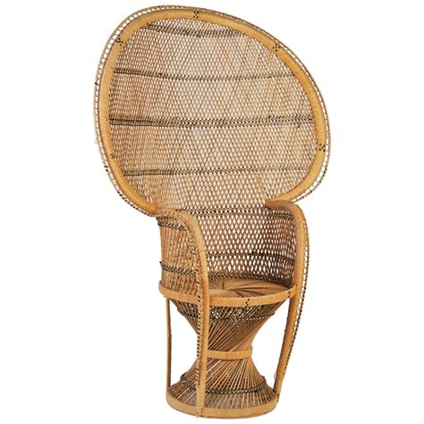 emmanuel or peacock chair circa 1970s for sale at 1stdibs