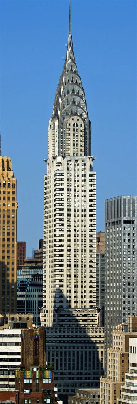 What Is The Chrysler Building Made Of On Top Of The World At The Chrysler Building New York