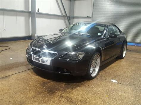 2006 Bmw 650i For Sale by 2006 Bmw 650i Auto For Sale At Copart Uk Salvage Car
