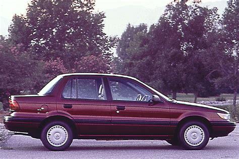 mitsubishi mirage 1990 1990 92 mitsubishi mirage consumer guide auto