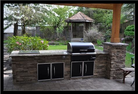 outdoor bbq ideas patio bbq designs my landscaping collection diy