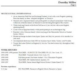 qualifications summary resume resume for an esl teacher susan ireland resumes