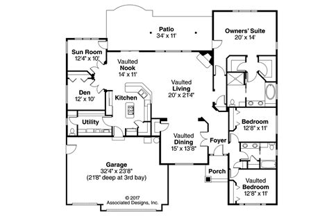747 floor plan georgian house plans lupine 30 747 associated designs