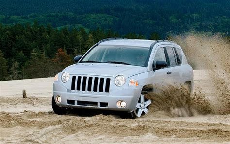 2007 Jeep Compass Tire Size 2007 Jeep Compass Drive Motor Trend