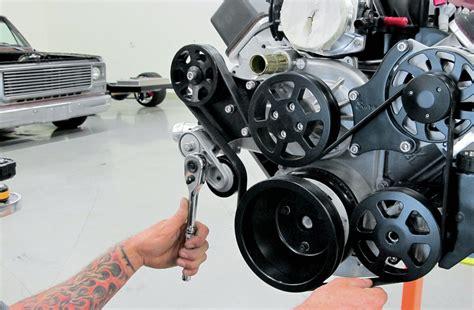 Tensioner Rantai All Motor installing eddie motorsports serpentine drive belt system rod network