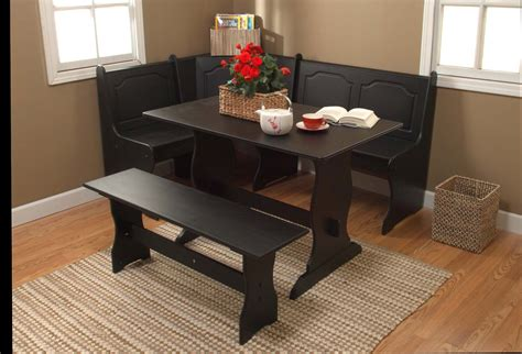 nook dining room set corner nook dining set kmart 187 gallery dining