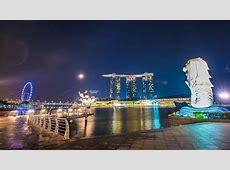 Free photo: Singapore, Merlion, Marina Baysand - Free ... Ferris Wheel Vector Free Download