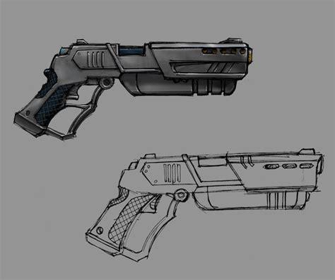 gun designs ohhhh guns guns guns robocop redesign andrew tober