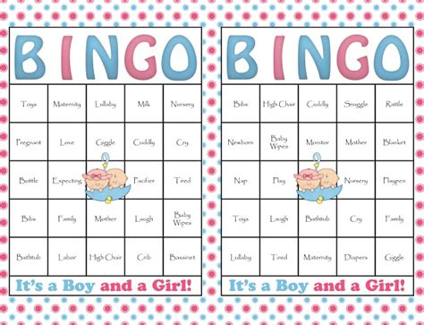 template for baby shower bingo game fun and free baby shower games 365greetings com