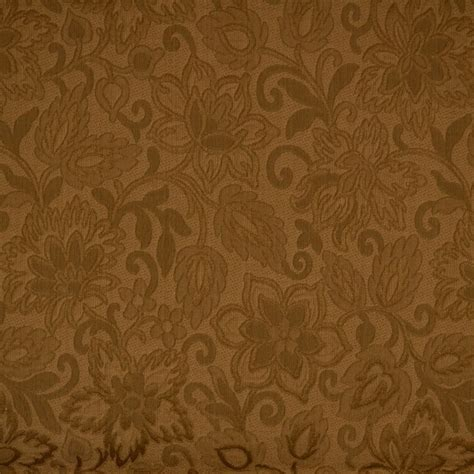 upholstery cloth brown jacobean floral matelasse upholstery fabric ebay