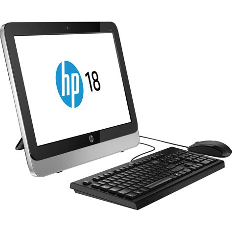 All In One Desk Top Computer Hp 18 5110 18 5 Quot All In One Desktop Computer G4b05aa Aba