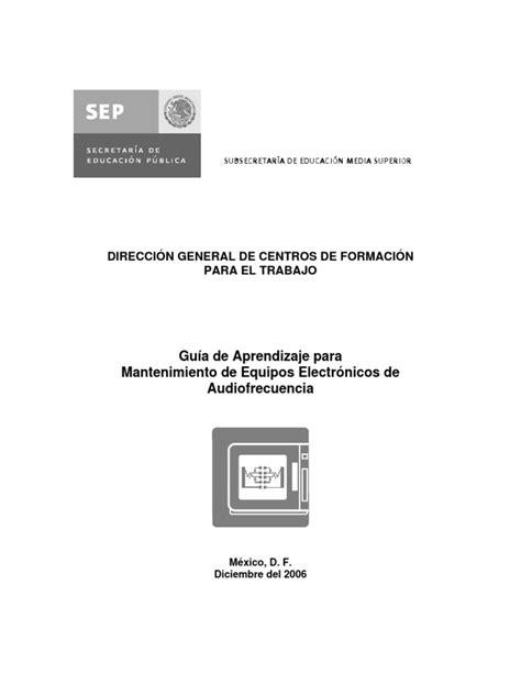Audio.pdf | Modulación de frecuencia | Herramientas