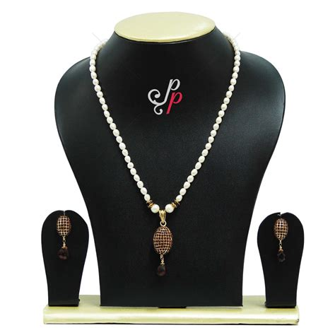 exclusive pearl necklace sets simple pearl necklace set