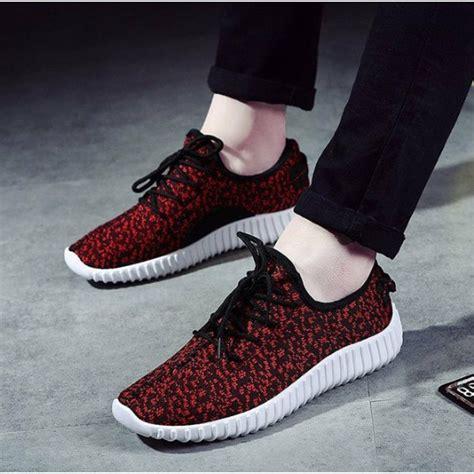 Sepatu Adidas Di Shopee sepatu kets adidas yeezy merah bintik shopee indonesia