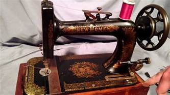 new home sewing machine serial number serviced antique new home ornate floral treadle sewing