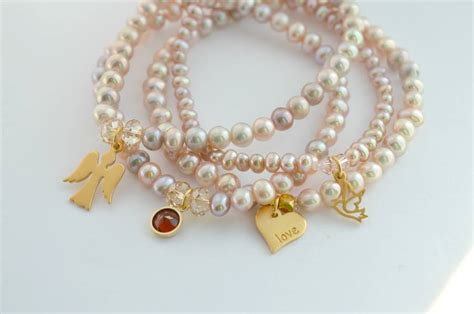 Pearl Amira Amira Pearl Bracelet Stack By Ps With