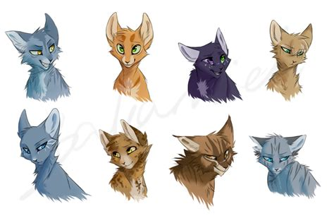 warrior cats warrior cats doodles by bakamiel on deviantart