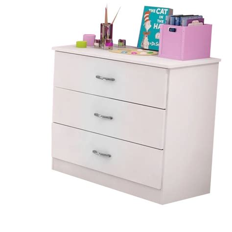 South Shore Libra Collection 3 Drawer Chest by South Shore Libra 3 Drawer Chest In White 3050033