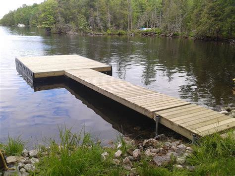 Cottage Docks traditional floating docks cottage docks ontario