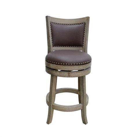 24 inch white swivel bar stools boraam 24 quot cantabria wire brush swivel weathered white bar