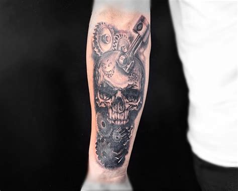 diesel mechanic tattoos 21 mechanic designs ideas design trends