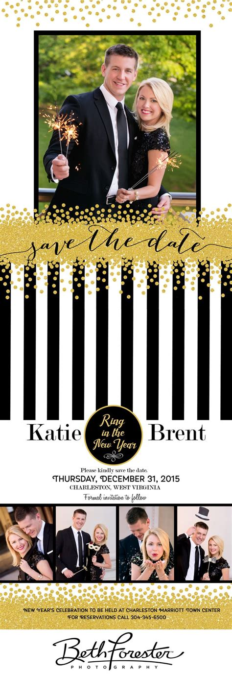 date ideas new years new year s wedding save the date cards wv wedding