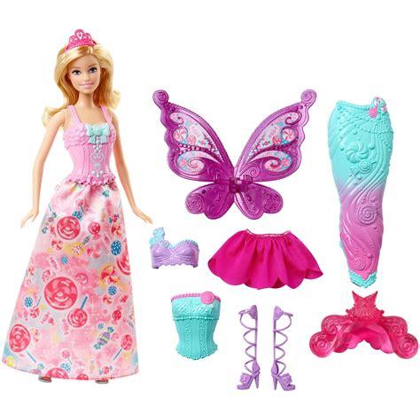 Set 3in1 Princess mermaid dolls walmart