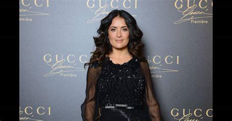 Whats Wrong With Salma Hayeks Ensemble by Salma Hayek Vs Le Podium L Ensemble Gothique Chic Gucci