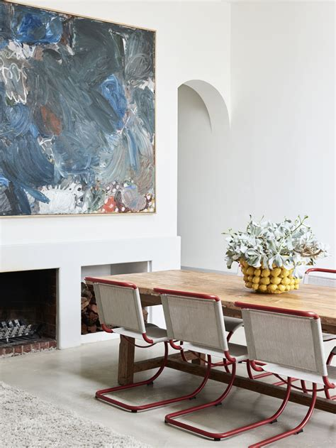 design files   eclectic home  artist