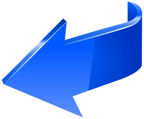 blue arrow gradient color arrow png image and blue arrow left bbcpersian7 collections