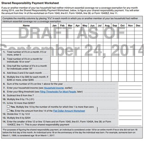 Irs Section 61 by Individual Shared Responsibility Payment Obamacare Facts