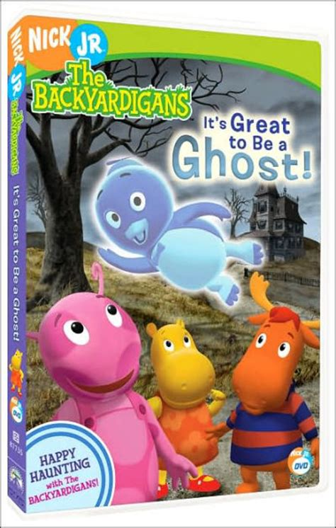 Backyardigans It S Great To Be A Ghost Dvd Backyardigans It S Great To Be A Ghost 97368773547
