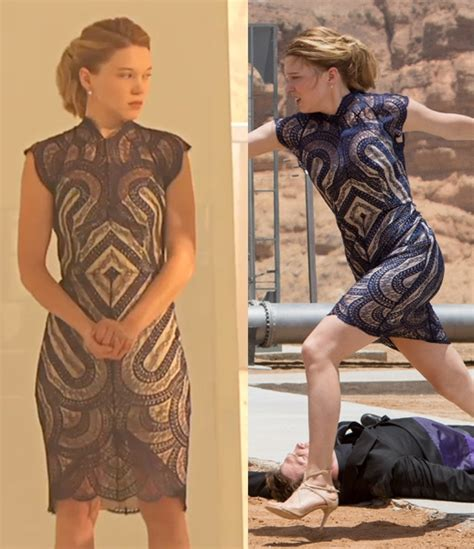 lea seydoux dress spectre lace lover venus dress bond lifestyle