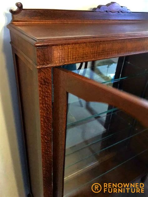 Handmade Furniture Brisbane - from silky oak cupboard to display cabinet