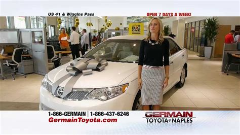 Germain Toyota Naples Fl Big One Germain Toyota Of Naples