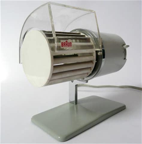 Braun Desk Fan fancy 1960s braun hl1 personal desk fan by reinhold weiss