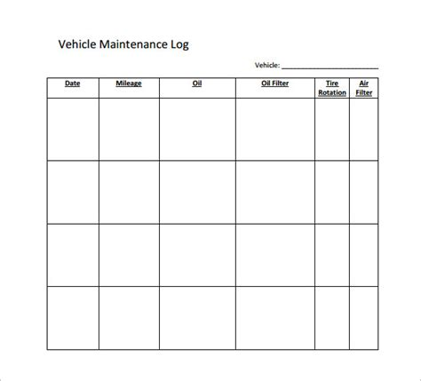 truck maintenance log excel best of reminder screen truck