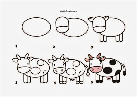 cara membuat robot untuk anak sd kerajinan anak menggambar sapi cupidocreativeblog