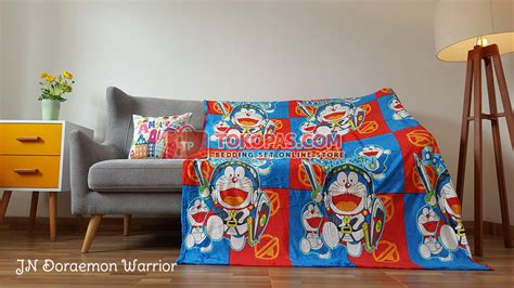 Selimut Bulu Lembut Doraemon selimut karakter bulu lembut junior