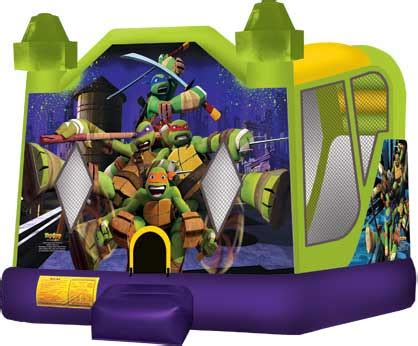 teenage mutant ninja turtles house bounce house party rentals sir bounce a lot sir bounce a lot party