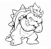 Dry Bowser Colouring Pages